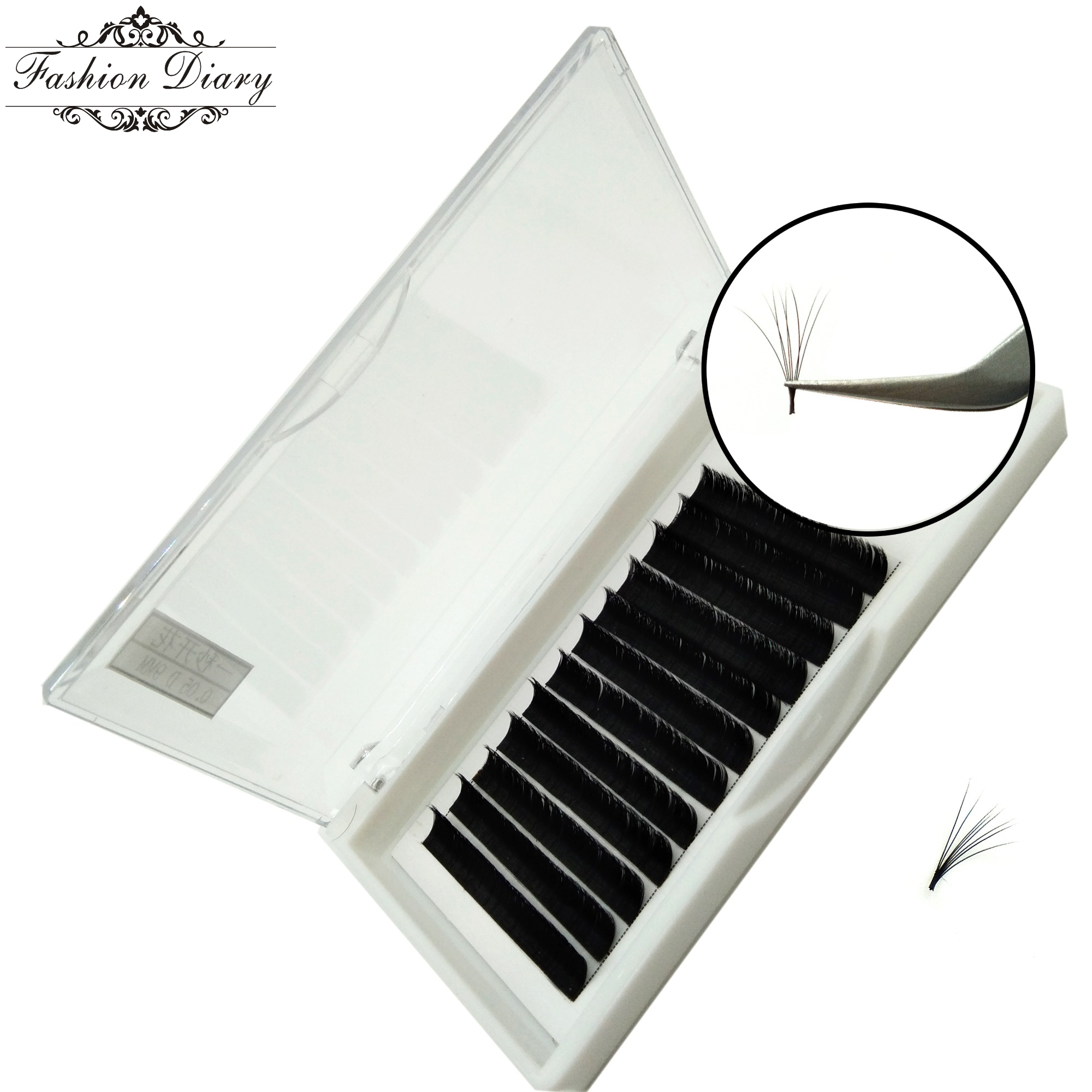 8a5f724f852 Blooming lashes,one second flower lashes