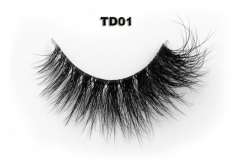 clear band 3D Mink strips Lash, The best in the lashes
